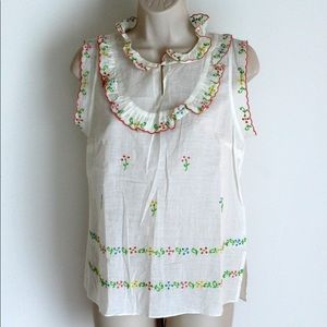 Girls from Savoy embroidered top - size 6